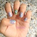 Monster inc+monster university nails