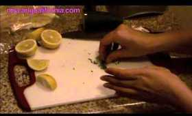 """Cooking with MsCarlyCalifornia """"Greek Inspired Dish"""""""