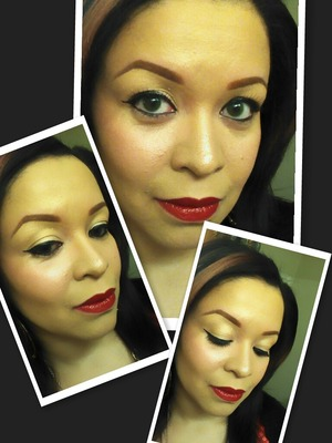 Products used: BH Cosmetics, ELF Holiday Collection, Rimmel