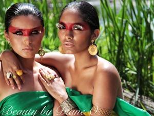 Photoshoot I did for BohoBrasil jewlery line...makeup By me