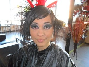 Makeup Done by Semaj Lrae 5/1/11 for Hair Show Event. Come see me at Devine Designs Salon & Spa 503.282.1209