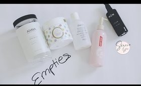 5 EMPTIES in 5 MINUTES | BATH AND BODY
