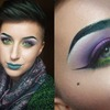Green, Purple & Teal Lips