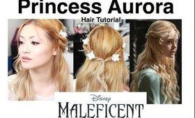Princess Aurora Hair Tutorial: Disney's Maleficent The Movie