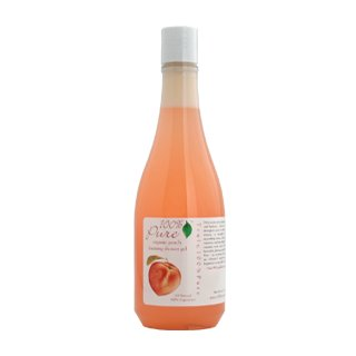 100% Pure Organic Peach Shower Gel