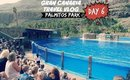 Travel VLOG: Gran Canaria January 2015 - Day 6 Pamitos Park