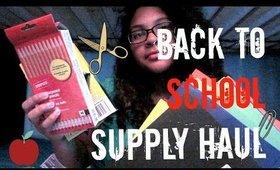 Back to School Supply Haul//SimplyMerylyn