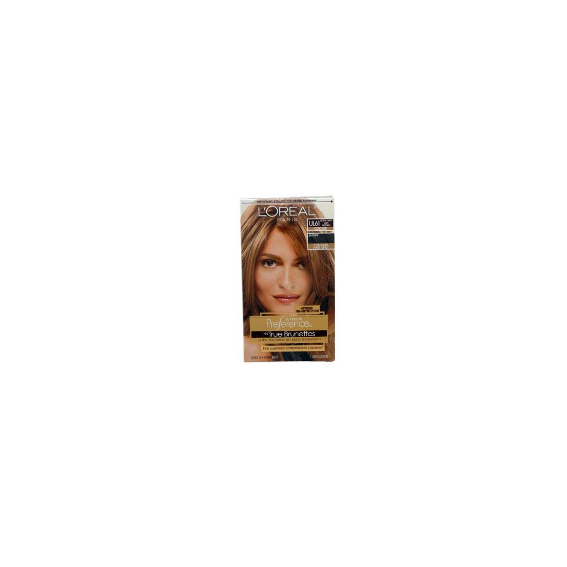L Oreal True Brunettes Ultra Light Ash Brown Ul61 Beautylish