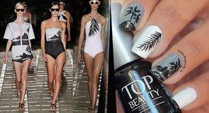 As unhas foram Inspiradas no desfile Osklen Praia -Fashion Rio- Verão 2015, apareceram peças lindas com estampas que chamam muito atenção. - See more at: http://www.estilopropriobysir.com/2014/07/nail-art-osklen-praia.html#sthash.QwP3X0pM.dpuf