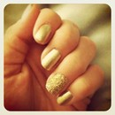 Golden Caviar Mani!!