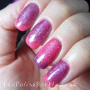 Gelish Good Gossip and Star Burst with Water Field