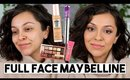 FULL FACE OF MAYBELLINE FIRST IMPRESSIONS! | One Brand Makeup Tutorial - TrinaDuhra