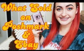 Made $260 in 1 Week!   What Sold of Poshmark, Ebay, and Mercari   Part-Time Reseller