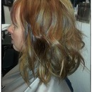 "A soft beachy wave made with a 1"" curling iron!"