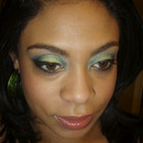 St. Patty's Day Makeup 2012