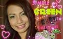 Green Makeup Tutorial (Back to school look)