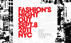 Fashion's Night Out in NYC
