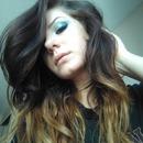 Aqua teal blue