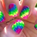 Tye-Dye Nails <3