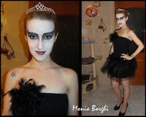 Me As Black Swan! the makeup is not perfect but i'm actually happy with the result!