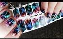 "NCLA ""So LA!"" Nail Wraps Demo & Review | OliviaMakeupChannel"