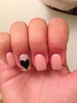 Cute simple nails 😄