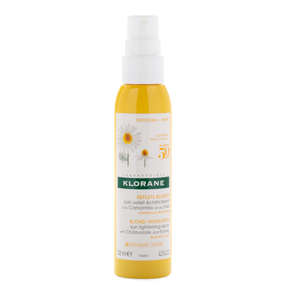 Klorane Sun Lightening Spray with Chamomile and Honey