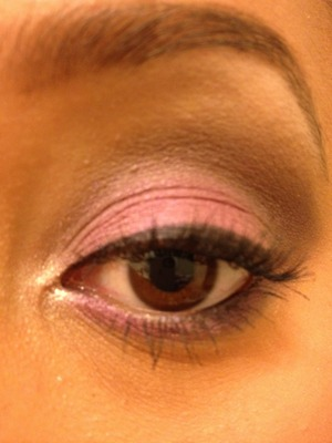 Mauve look from my tutorial