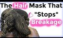 """DIY Natural Hair Mask  """"Stops"""" Breakage & Encourages Growth: Messy But Good"""