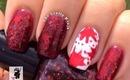 Dexter Bloody Splatter Nails by The Crafty Ninja