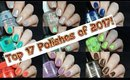 Top 17 Nail Polishes of 2017 | Collab