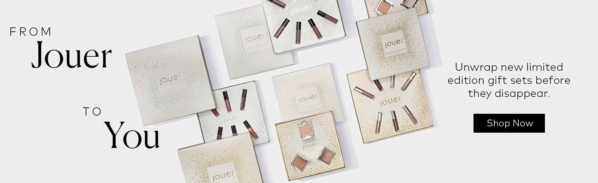 Limited Edition Holiday Gift Sets from Jouer