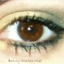 Gold Mist eye make up