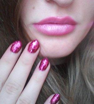 "Ciate mini nail polish in ""Candy Cane"""