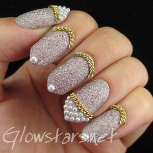 Read the blog post at http://glowstars.net/lacquer-obsession/2014/11/glitter-chains-and-pearls/