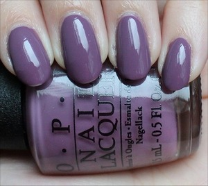 From the Miss Universe 2013 Collection. See my in-depth review & more swatches here: http://www.swatchandlearn.com/opi-im-feeling-sashy-swatches-review/