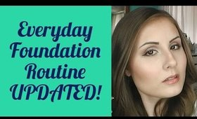 My Everyday Foundation Routine (Updated!) | Angela Marie