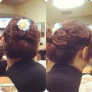 Spring Updo Bow
