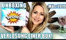 Unboxing & Verlosung Lookfantastic Beauty Box März 2019 | Hammer Produkte😍