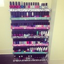 MY DIY Nail Polish Rack!!!
