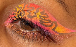 Create Intricate Eyeshadow Designs With This Unexpected Makeup Hack