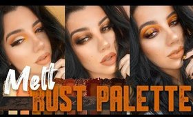 MELT Rust Palette Review + Three Looks!