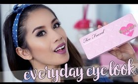 Everyday Eye Makeup Look | Too Faced Chocolate Bon Bons Palette