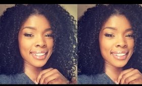 How to Put a Wig on Natural Hair 2019 / No Cornrows!