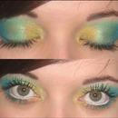 Gold, Green, Blue