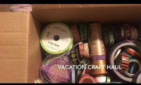 Vacation Craft Haul