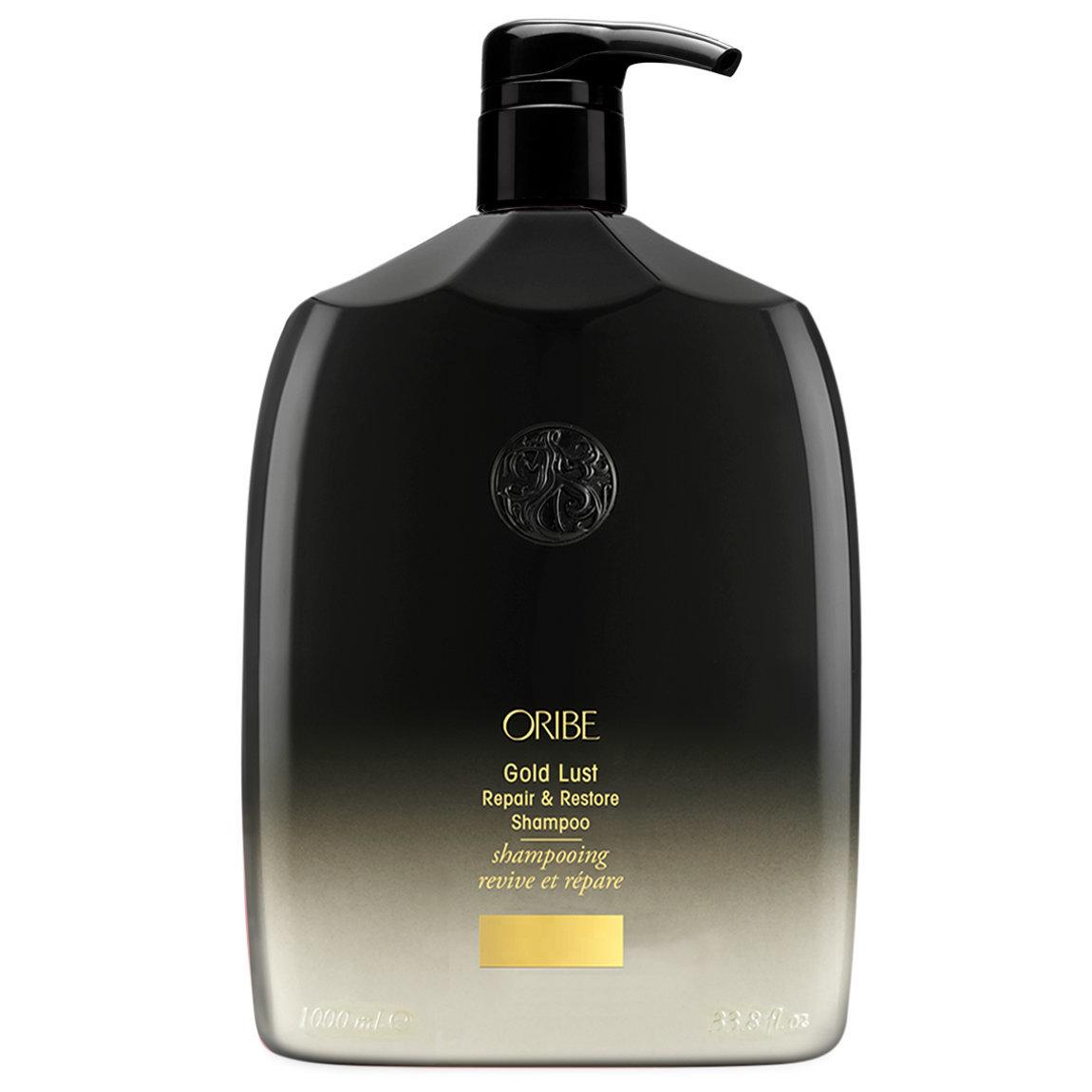 Oribe Gold Lust Repair & Restore Shampoo 1 L alternative view 1 - product swatch.