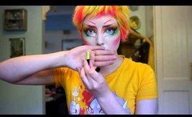 Sugarpill Monster Makeup tutorial