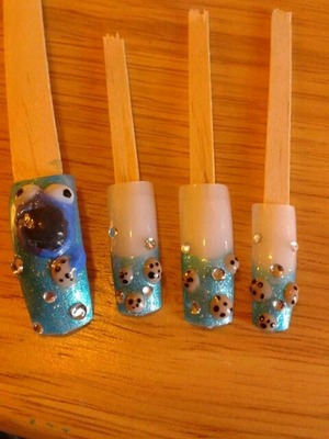 Cookies 3-d nails