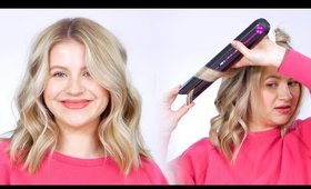 How To Curl Hair with NEW Dyson Flat Iron